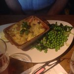 Fish pie my father had and enjoyed