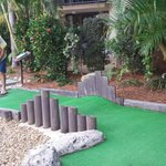 Mini golf at the resort