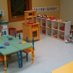 Our play room is available for family time.