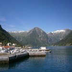 Town in the fjords