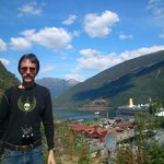 At Flam town, our stop after the boat trip.