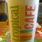 24 ounce smoothie . Average price $4.99