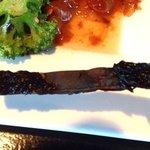 burnt portobello mushrooms