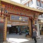Hotel entrance just off Barkhor Street