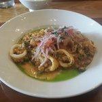 Lunch Arroz con Mariscos $17