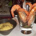 Bouquet de crevettes
