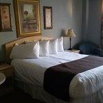 Standard queen room,  Coast Hotel Medicine Hat     3216 13th Ave SE, Medicine Hat, Alberta T1B 1