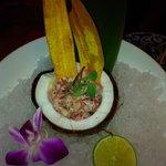 coconut ahi tuna tartar