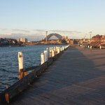 Pyrmont wharves - at the end of the road