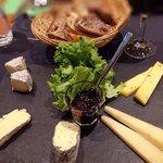 Degustazione di cinque formaggi