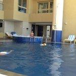 tiny claustrophobic pool