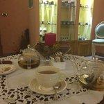 Tisana dopo il massaggio, sala gourmet