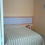 Chambre grand lit (il y aussi des chambres lits jumeaux)
