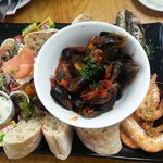 The seafood platter :)