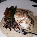 Green curry grouper special
