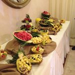 Such a beautiful Fruit Table