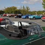 Stafford mg enthusiasts line up !