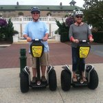 Patty & Steve @ Hershey Segway Tour