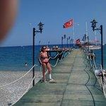 ponton sur la mer