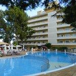 piscine et l'hotel