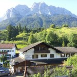 View of Zugspitze from Grainau