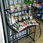 supplies in the store
