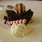 Tarta de chocolate y amaretto