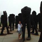 Agora sculptures Grant Park