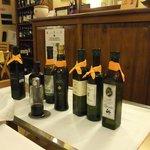 Olivenölauswahl zum Brot als Starter