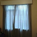 Bedroom curtains - don't stop much light!