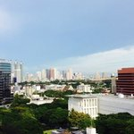 Spectacular view of Bangkok from guestroom