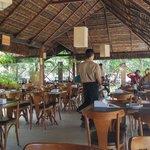식당 전경 일부