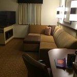 HUGE living area in room