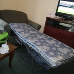The chair pull out bed