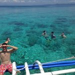 Snorkelling with the resort