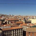 Vista desde la terraza de Madrid