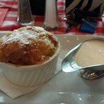 Bread pudding with Rum Sauce.....yummy!!