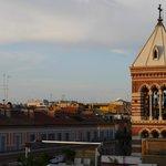 Hotel Artemide - View From Rooftop Restaurant