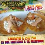 Tacos en tortilla de queso