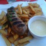 Andouillette/frites sauce moutarde 15€
