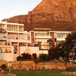 View of Primi Sea Castle and Table Mountain