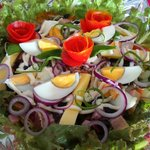 """Our best sale salad at the Restaurant """"Mixed Salad"""""""