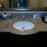 Granite sink area