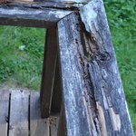 rotted porch
