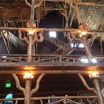 Old Faithful Inn - take the free tour given four times a day