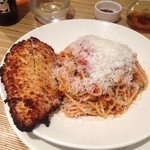 Pollo Milanese (I requested spaghetti on the side)