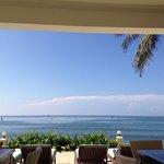 Beautiful breakfast view