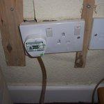 Unsafe electrical socket
