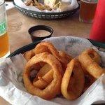 yummy onion rings!