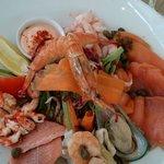 Seafood Antipasto Starter - Fresh and fantastic